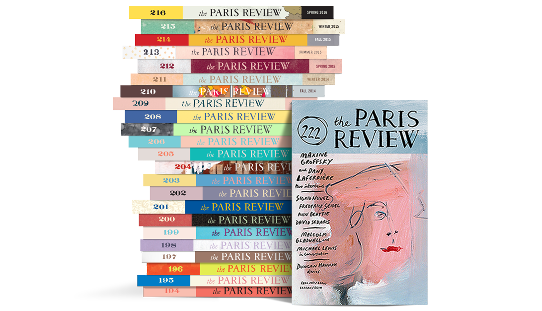 Paris Review Stack 222