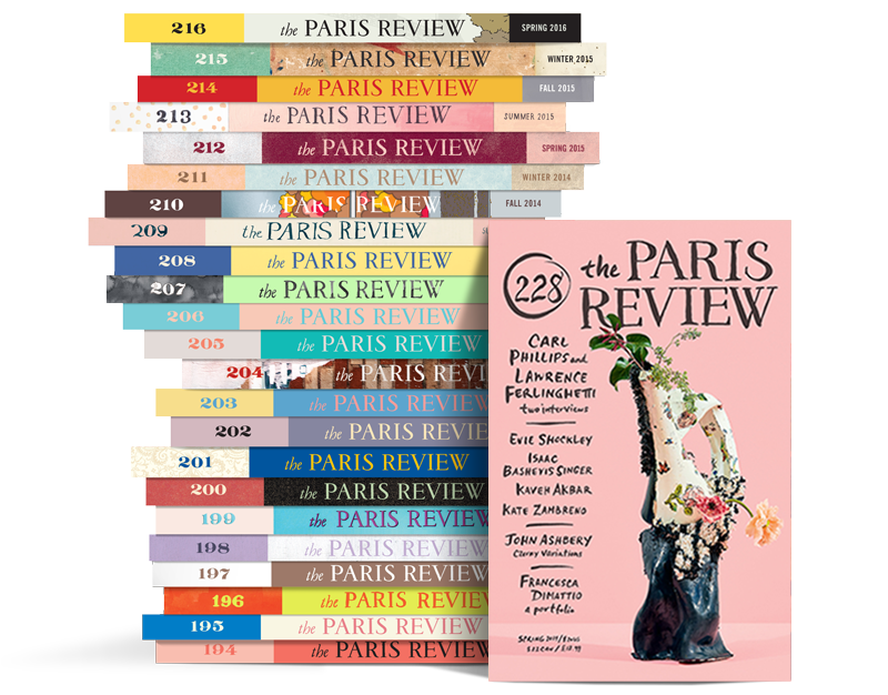 Paris Review Stack 228