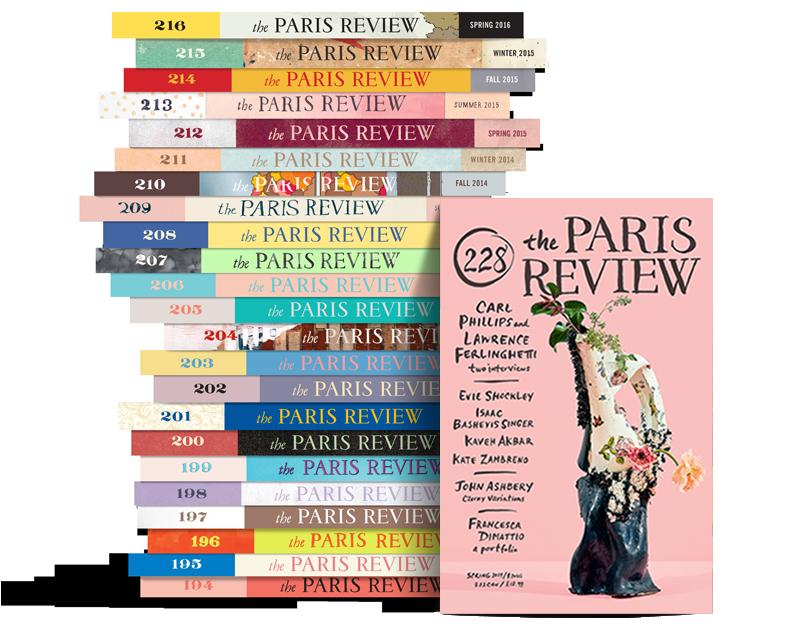 Paris Review Stack 228