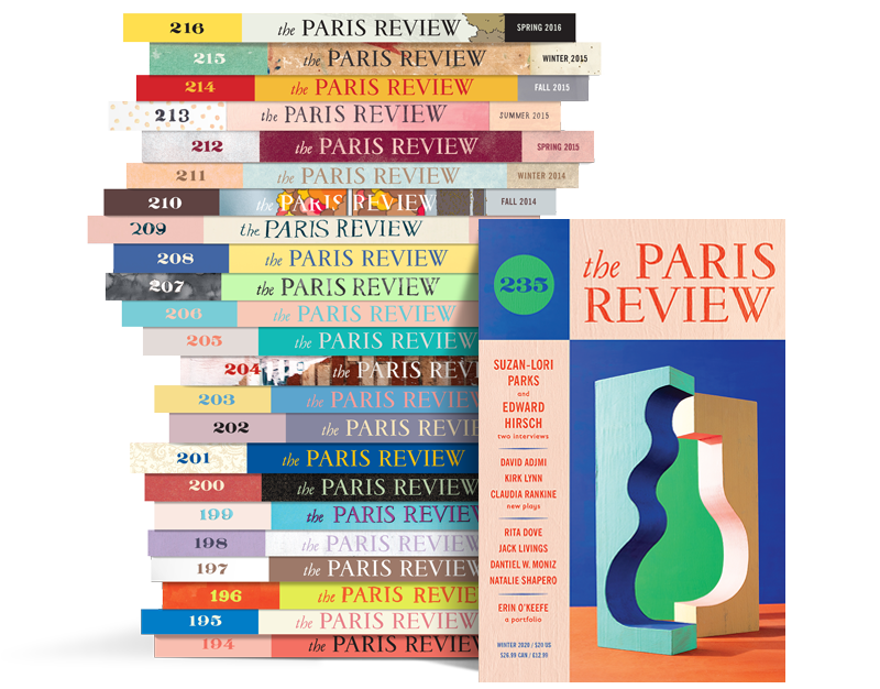 Paris Review Stack 235