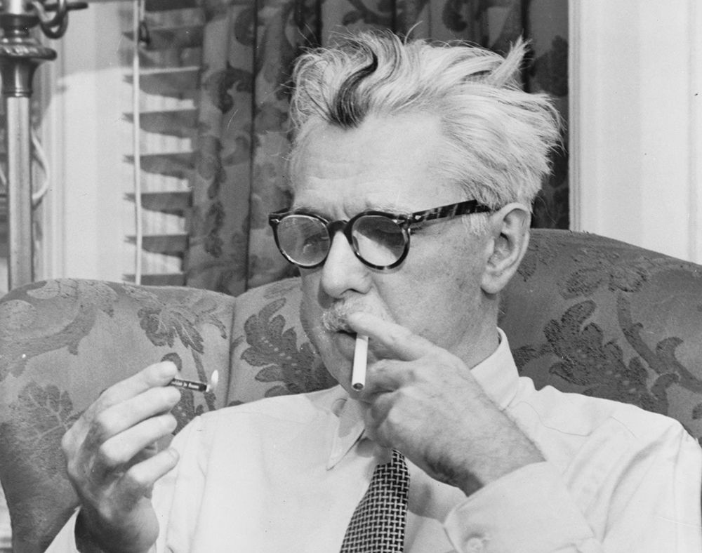 paris review james thurber the art of fiction no  james thurber ca 1954