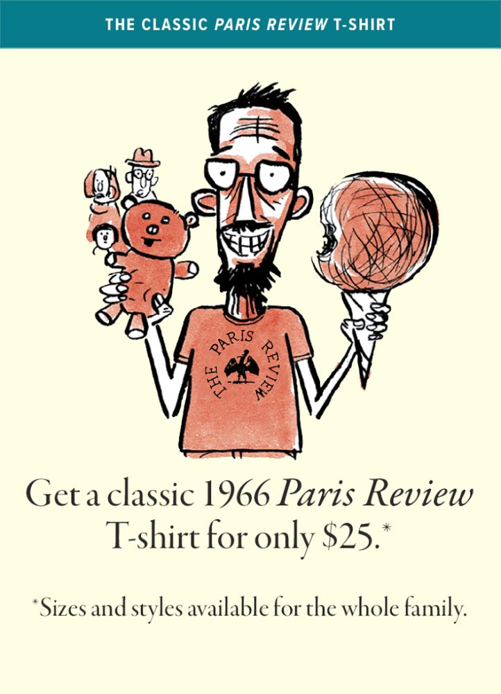 The Paris Review T-shirt 221