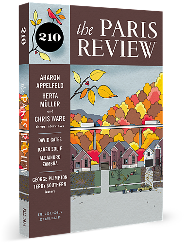 Paris Review - Chris Ware, The Art of Comics No. 2