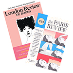 <em>The Paris Review</em> + <em>London Review of Books</em> Dual Subscription